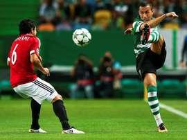 O lateral brasileiro teve altos e baixos em Alvalade e vai procurar ser feliz em Braga. EFE