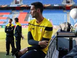 Sergio Rico se rendra au Bernabéu en vue d'un bon résultat. EFE