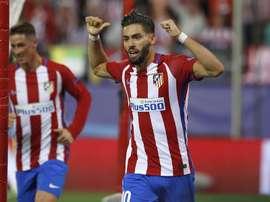 Carrasco foi figura no jogo frente ao Osasuna, quer pelo bis, quer pelo peanlty falhado. Twitter