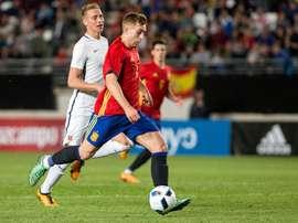 No bastó el gol de Deulofeu. EFE/Archivo