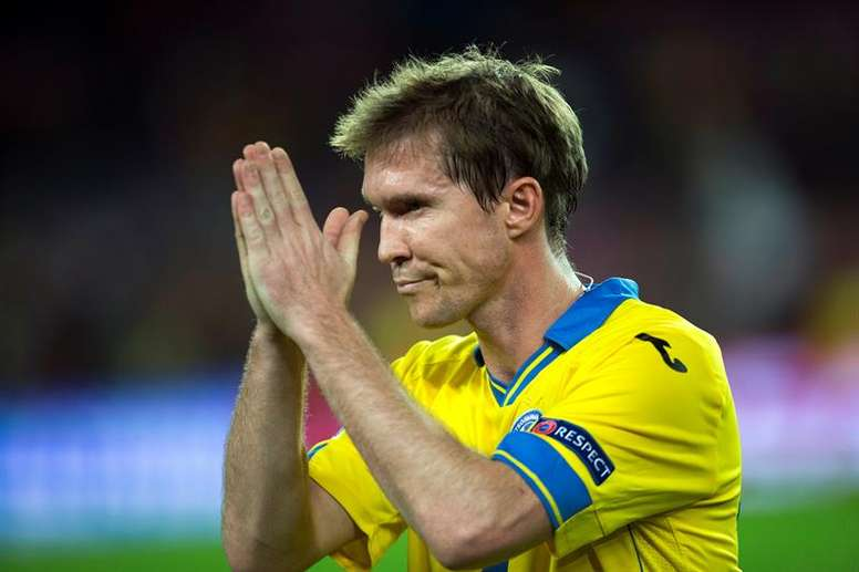 Hleb has sparked controversy with his comments. EFE