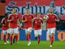 A Austria le bastó un gol de Schöpf en el primer tiempo para vencer a Rusia. EFE/Archivo