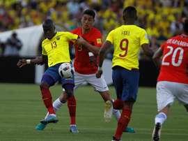 Los ecuatorianos golearon a Chile tras un gran partido. EFE
