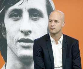 Jordi Cruyff announced as new Maccabi Tel Aviv coach. EFE