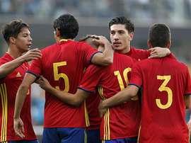 El España-Austria Sub 21 se jugará en el Carlos Belmonte. EFE