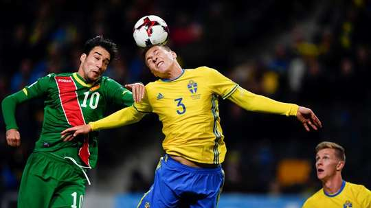 Lindelof couldn't continue against Turkey. EFE