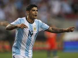 Aos 28 anos, o internacional argentino pode experimentar a Ligue 1. EFE/Archivo