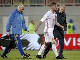 Ramos não encara a Bósnia. EFE