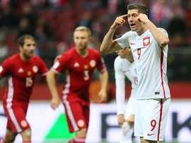 El Legia no olvidará nunca su rechazo al polaco. AFP