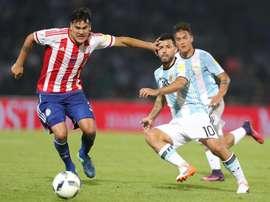 Gustavo Gómez a éveillé l'intérêt de Boca Juniors. EFE