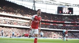 Mesut Özil llegó al Arsenal procedente del Real Madrid. EFE