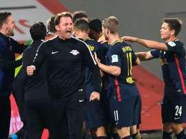 El RB Leipzig está haciendo una temporada que ni el más optimista esperaba. EFE/EPA
