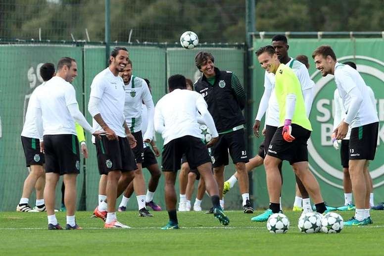 Clubs are gradually starting to train again in Portugal. AFP