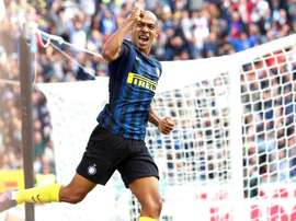 Joao Mario is determined to build on Inter's positive start. EFE/Archivo