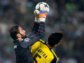 Le Sporting de Portugal ne le laissera pas partir pour moins de 35 millions. EFE