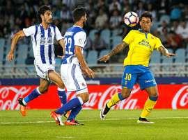 Hélder Lopes confía en suplir al lesionado Dani Castellano ante el Athletic. EFE/Archivo