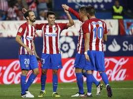 Gaitan and Carrasco leave Atletico. EFE