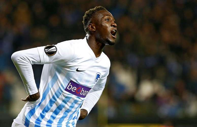 Ndidi is set to join Leicester in January. EFE