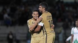Pumas empató a uno frenta a Morelia. AFP/Archivo