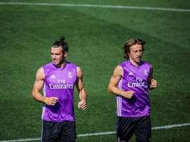 El último vals de Modric y Bale. EFE/Archivo