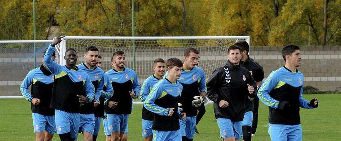 Los cataríes podrían entrar en los planes del entrenador para el choque ante el Madrid. EFE