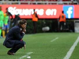 Matías Almeyda podría ser el nuevo entrenador del Al-Rayyan. EFE/Archivo