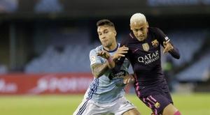 El Barcelona cayó en Vigo. EFE