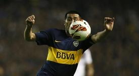 Halagos al mítico jugador argentino. EFE/Archivo
