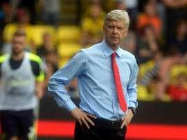 Arsene Wenger, entrenador del Arsenal. EFE/Archivo