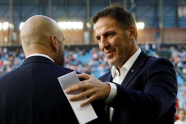 El entrenador del Celta asegura que su equipo debe tener paciencia para tumbar al Alavés. EFE