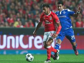 Salvio scored his side's only goal. AFP