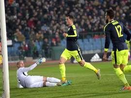 El Arsenal consiguió asegurar la clasificación para los octavos de final. EFE