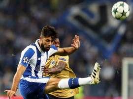 El Oporto evitó la derrota 'in extremis'. EFE/Archivo