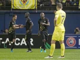 El conjunto turco dio la sorpresa en El Madrigal y se llevó los tres puntos. EFE
