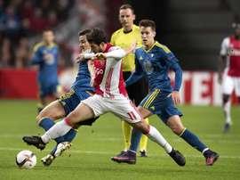 Il a fait parlé de lui à l'Ajax. EFE