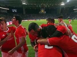 El filial del Benfica perderá a Luka Jovic, que marchará cedido al Vitória de Setúbal. AFP