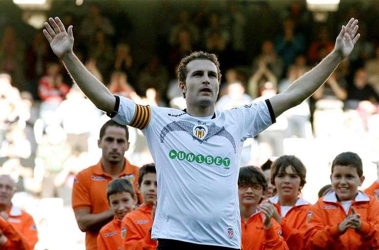 Baraja se retiró en el Valencia. EFE