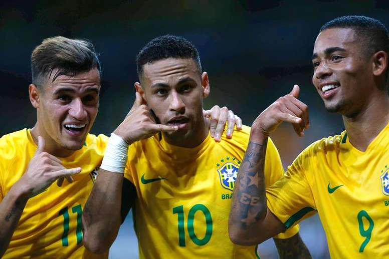 Le Brésil, un des favoris. EFE