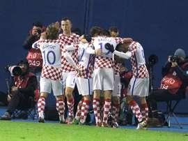 Le match aller aura lieu ce soir à Zagreb. EFE
