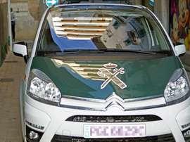 Un coche de la Guardia Civil. EFE/Archivo