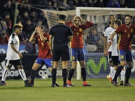 La Selección Española Sub 21 ha confirmado la fecha del amistoso contra Dinamarca. EFE/Archivo