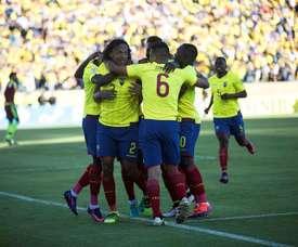 La Selección de Ecuador remontó el tanto de Andino. EFE