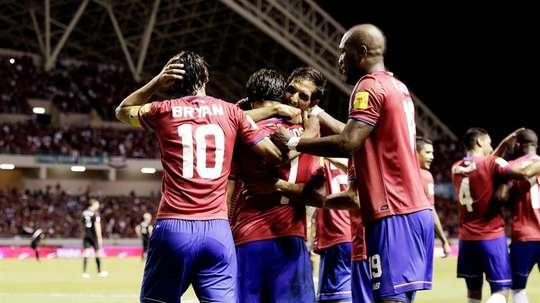 Costa Rica tiene como primer objetivo ganar la Copa Centroamericana. EFE