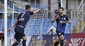 Pedro Conde es el goleador del PAS Giannina. EFE/Archivo