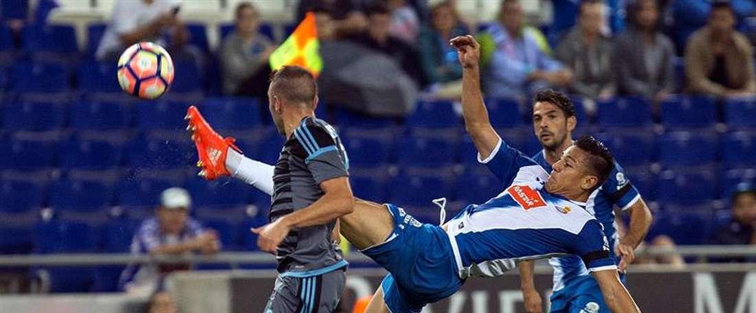 Espanyol consegue a primeira vitória na LaLiga. EFE