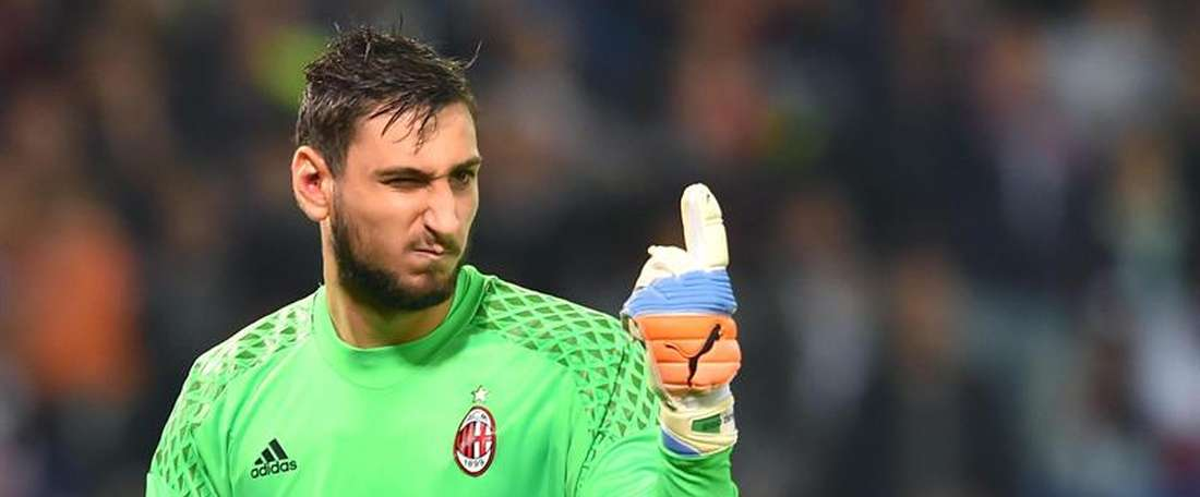 Gianluigi Donnarumma is one of them. EFE/Archivo