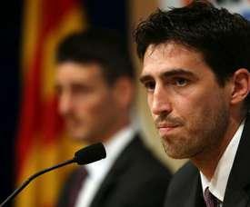 Iraola cogió al AEK Larnaca en el pasado mes de mayo. EFE