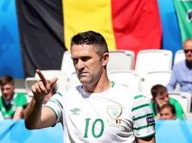 Robbie Keane podría volver a un club de su país. EFE/Archivo