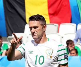 Scott Hogan and Sean Maguire want to live up to Robbie Keane's international record. EFE