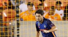 A Andoni Iraola le fue reconocido su buen año en la MLS. EFE/Archivo